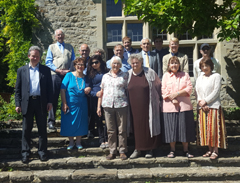group photo Cleeve House Seminar