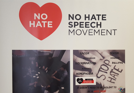 No Hate Banner