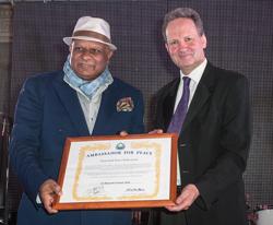 Dr BK Modi Ambassador for Peace Award