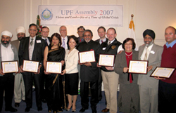 Annual Seasonal Gathering of UPF Ambassadors for Peace