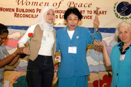 Women bring a vision of peace