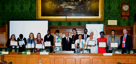 Youth Achievement Awards 2014