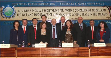 Albania ELC Group  Dr Song 3rd From Left