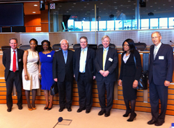 Conflict Minerals session hosted by Dr Charles Tannock MEP  - European Parliament