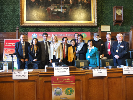 Human Rights conference group photo