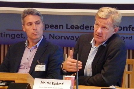 Ed Brown and Jan Egeland