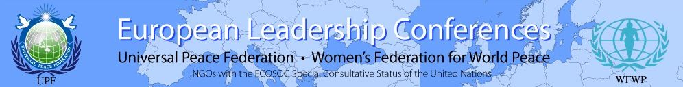UPF European Leadership Banner