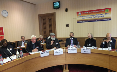 Imam Sajid and Session Panel