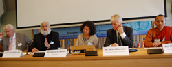 Spritiual Traditions for Sustainable Peace Panel