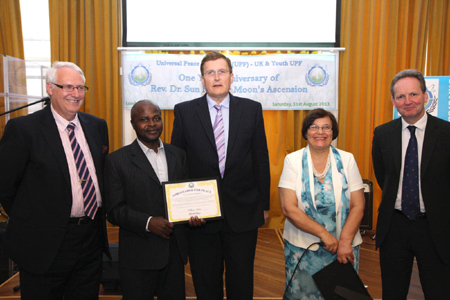 William Nkata Ambassador for Peace Award