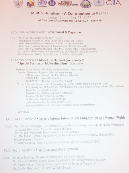 Geneva Conference 1