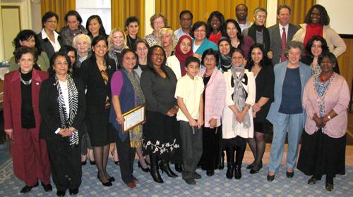 International Womens Day group photo