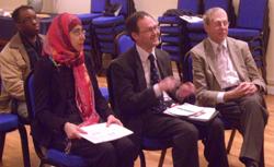 Speakers at South Londons UPF Meeting