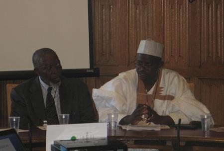 Africa Day 2013 Hon Salisu Ahmed Bara u and Mr Aliu Bello