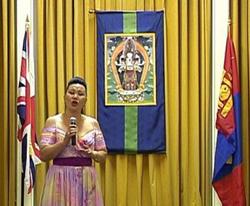 Mrs Dolgor - Mongolian Opera Singer