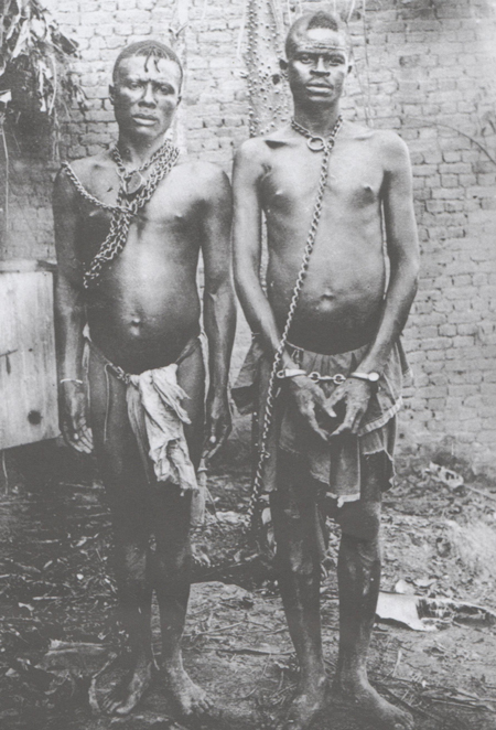 Congo Colonial Prisoners in Chains