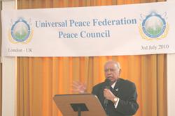Dr Hari Shukla OBE Newcastle City of Peace Campaign