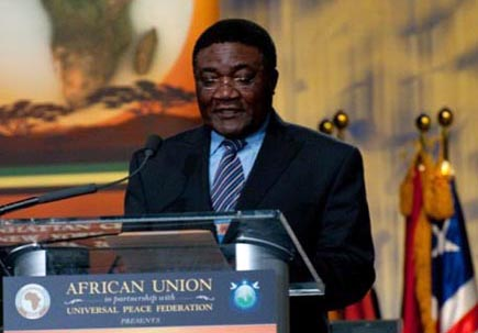 H.E. Mr. Michel Tommo Monthe, Vice President of the UN General Assembly
