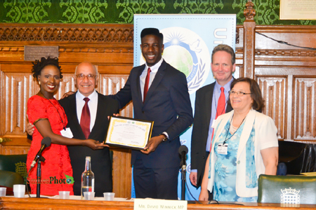 Jermain Jackman Youth Achievement Award 2014