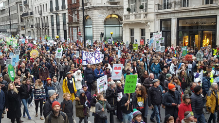 Climate Change March Pall Mall