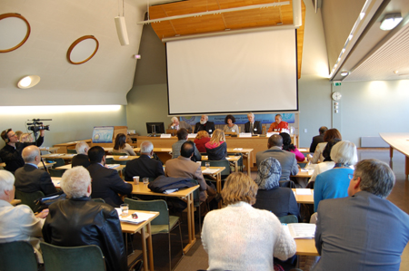 Religious Freedom Panel - Oslo from back