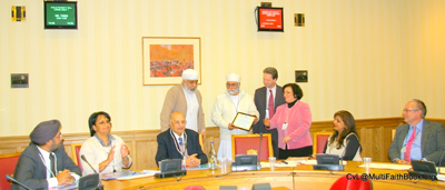 Mr Suba Tarsem Singh Bimbra of Namdhari Sangat UK.
